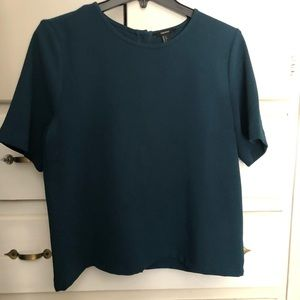 Cute Forever21 forest green top